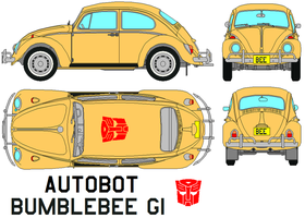 Autobot Bumblebee (G1) Transformers by bagera3005