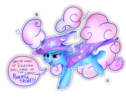 The Great and Powerful Trixie!! by Vocalmaker