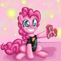 Pinkie Pie with Swag by Slinkycraft