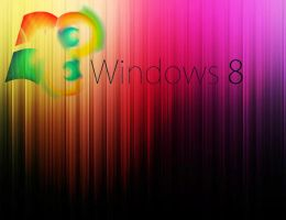 Windows 8 colourfull by Faisalharoon