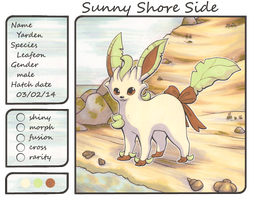 Yarden the Leafeon by Yakalentos