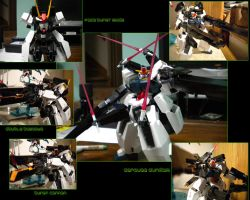 Seravee Gundam Second collage by VirgoT