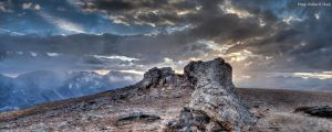 Toll Memorial Trail -c53-1348-10-2 by abstractcamera