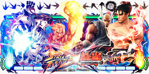 Street Fighter x Tekken Sign v2 by Panico747