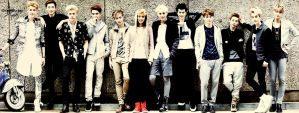 EXO [Colored Style] by The-Rmickey