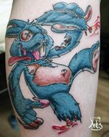 lucky rabbit's foot by mrwestattoo