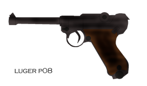 Luger P08 by pete7868
