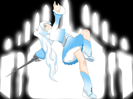Weiss - RWBY by BeckaPOW