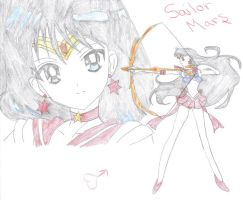 Sailor Mars by Romaji