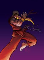 VIOLENT Ken Masters by theCHAMBA