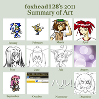 Art Meme - 2011 by foxhead128