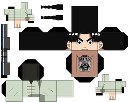 Rock Lee Young by hollowkingking