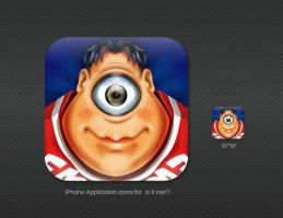 iPhone icons for is it me. by st-valentin
