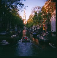 Afternoon in Amsterdam by navamalika