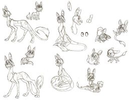 Pilumdracio Sketches: Info Below by Devils-DownPour