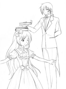 Posture and etiquette by Awa303