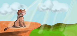 Adoptable Lion by HappyDucklings