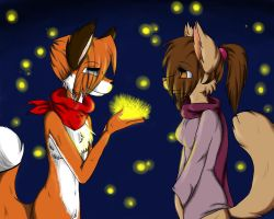 Fireflies by Furry-CancanLou