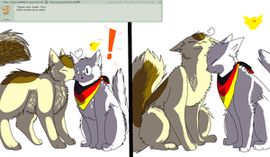 Ask 4: Kiss by Ask-Prussia-Neko
