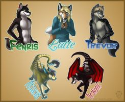 FC 2012 Pre-Order Badges 1 by Idess