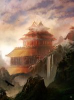 The Temple by matty17art