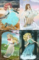 Literary Women Of Water by Thanh-the-Mousegirl