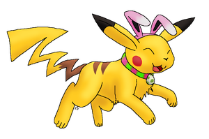 Shiny Easter Chu by Chari-Artist