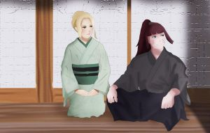 Tsunade's Parents by shadowkittyart