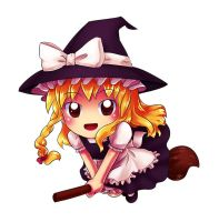 Points Chibi: Marisa by MidoriGale