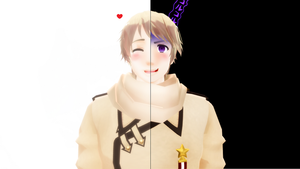 MMD Hetalia - Two faces of me by PikaBlaze