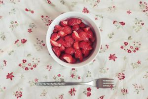 Strawberries by Araffatka