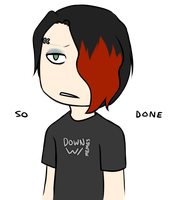 Goth Boy the Selective Memer by Spooksthetic