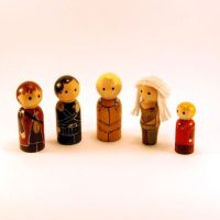 Game of Thrones peg people by jen-random