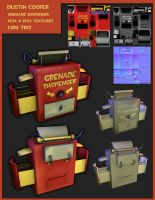 Team Fortress 2 Grenade Dispenser by CatCouch