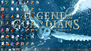 My new Desktop by Iybran