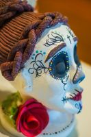 day of the dead statue by todaro