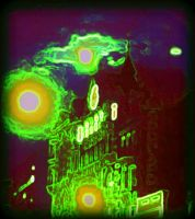 Manipulated Spookiness of Tottenham Court Road by CheBertrand