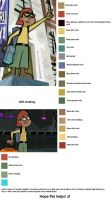 Tucker Foley Color Chart by icantunloveyou