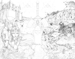 pencils - Once upon a time... by teamzoth