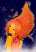 AT : Flame Princess by ghostrockk