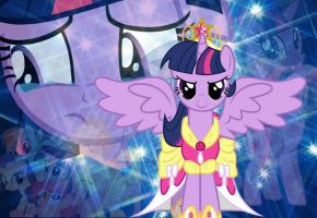 Princess Twilight Sparkle -By:EceSu by raredash