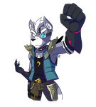 Wolf O'Donnel by Ionic-Isaac