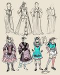 Vaguely-Historical and Lolita Plate by Magpieb0nes