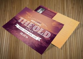 Removing the Old Church Postcard Template by loswl