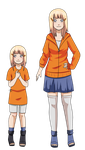 Momoka Uzumaki - NaruHina Child by selfmadecannibal