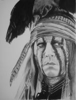 Johnny depp (Tonto) by ARTIEFISHEL79