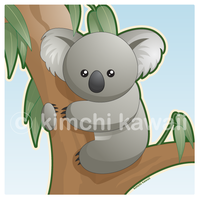 Kawaii Koala by kimchikawaii