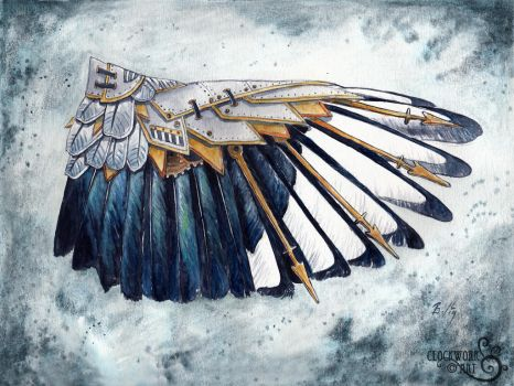Magpie Wing: A Study in Clockwork by bcduncan
