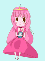 Princess Bubblegum by Stuffii