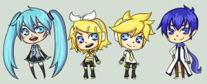 Vocaloid by rosey-so-silly